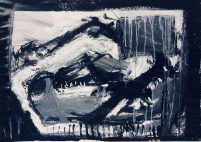 Landscape VI, 94 x 70cm, Acrylic on Paper