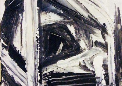 Landscape VII, 29 x 29cm, Acrylic on Board