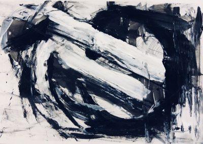 Landscape VIII, 57 x 40cm, Acrylic on Paper