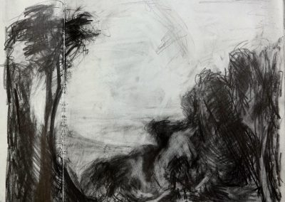 Turner Sketch, Pencil on Paper