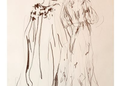 Giles Deacon II, 30 x 42cm, Pencil on Paper