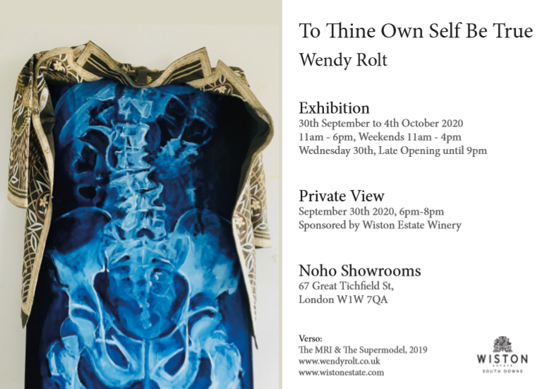 To Thine Ownself be True, an exhibition by artist Wendy Rolt September
