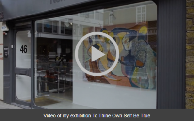 Video of my recent exhibition
