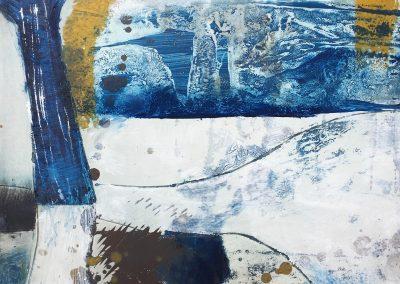 Field Landscape 20, Oils, 2021