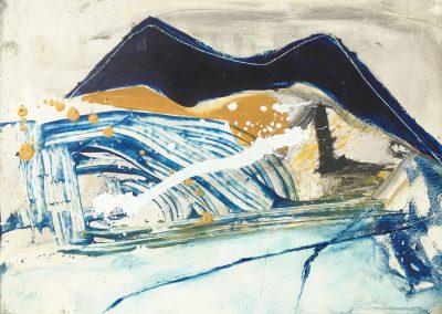 Field Landscape 22, Oils, 2021