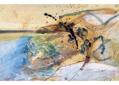 Field Landscape 23, Oils, 2021