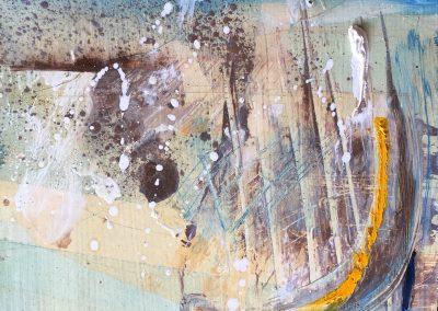 Field Landscape 24, Oils, 2021