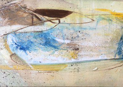 Field Landscape 28, Oils, 2021