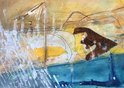 Field Landscape 33, Oils, 2021