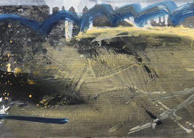 Field Landscape 34, Oils, 2021