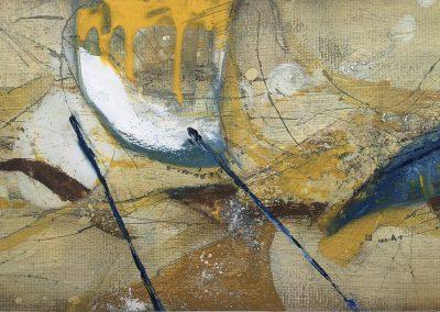 Field Landscape 35, Oils, 2021