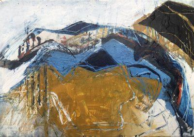 Field Landscape 36, Oils, 2021
